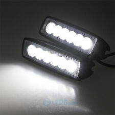 2x 6in 18W LED Work Light Bar Flood Driving Offroad Fog 4WD Reversing 36W 6 LED