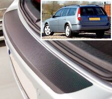 Ford Mondeo MK3 Estate - Carbon Style rear Bumper Protector