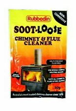 BULK$$ Soot Loose Soot-Loose Chimney Flue Fireplace Cleaner Organic Solvent 500g