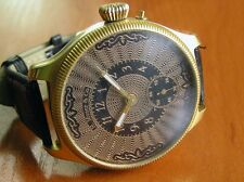ANTIQUE 1900's SWISS HENRY MOSER BRANDED MOVEMENT NEW CASE BEAUTIFUL DIAL