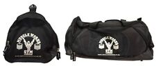 Muscolo opere London PALESTRA GYM BAG SPORT BAGS NERO