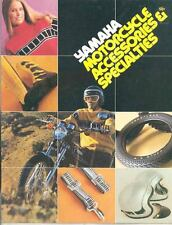 1972 1973 1974 1975 Yamaha Motorcycle Accessories & Clothing Brochure mx4766-LBT