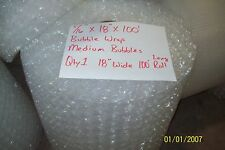 """5/16"""" WP Medium Bubble. Wrap my Padding Roll. 100' x 18"""" Wide 100FT Perf 12"""""""