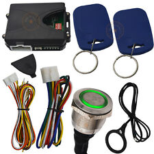 car rfid engine start stop button system with bluetooth anti-lost device