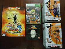 Naruto Shippuden: Ultimate Ninja Storm 3 Xbox 360 With 2 Statues & Soundtrack