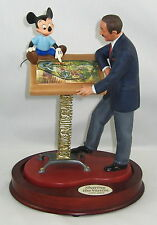 Walt Disney Classics Collection Mickey Mouse Sharing The Vision WDCC.