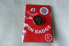 Comic Relief charity red nose day 2013 pin lapel badge,free u.k.p&p
