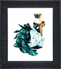 "SALE! COMPLETE XSTITCH KIT ""PORTRAIT OF VERONICA MD147"" by Mirabilia"
