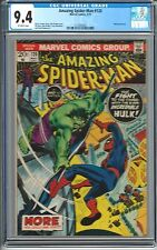AMAZING SPIDER-MAN #120 CGC 9.4 HULK VS SPIDERMAN ROMITA CVR AWESOME BATTLE 1973