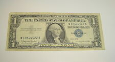 1957B United States Note $1 Silver Certificate W10644522A (Circulated Condition)