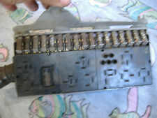 Audi Fox VW Dasher fuse box and cover, used, 74 - 75 yr., 823 941 813, #140
