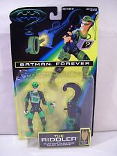 NEW VINTAGE BATMAN FOREVER THE RIDDLER ACTION FIGURE 1995 KENNER QUESTION MARK