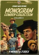 MONOGRAM COWBOY COLLECTION : VOLUME 9 Region Free DVD - (Rel 13 Sep 16) Sealed