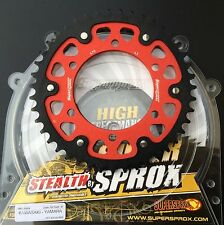 Supersprox Kettenrad Yamaha R1, RN01, RN04, RN09, 479-43 red, sprocket, Stealth