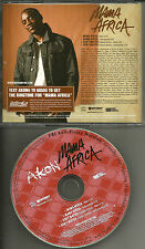 AKON Mama Africa / Don't Matter INSTRUMENTAL & REMIX PROMO DJ CD Single 2006