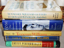 Five Books About TENNESSEE WILLIAMS Tom by Leverich (Inscribed) Donald Windham