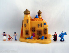 POLLY POCKET Tiny Collection Disney ALADDIN Playset Figures Character Extras