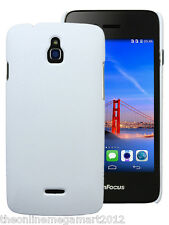 Premium White Slim Hybrid Hard Back Case/Cover/Pouch for Infocus M2  M 2