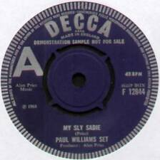 "[ALAN PRICE] PAUL WILLIAMS SET~MY SLY SADIE / STOP THE WEDDING~1968 UK ""DEMO"" 7"""