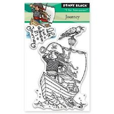 PENNY BLACK RUBBER STAMPS CLEAR JOURNEY NEW 2016 STAMP