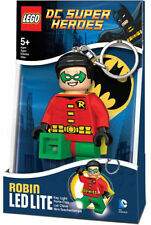 LEGO DC Super Heroes ROBIN LED Torch Keychain NEW