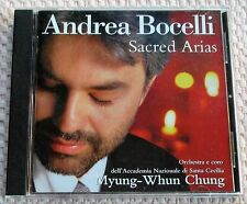 """ANDREA BOCELLI """"SACRED ARIAS"""". CD PHILIPS 1999. (PREOWNED)."""