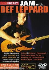LICK LIBRARY Learn to Play JAM WITH DEF LEPPARD Animal Hysteria Rock GUITAR DVD