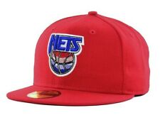 New Jersey Nets New Era 59FIFTY Vintage NBA Men's Fitted Cap Hat - Size: 7 3/4