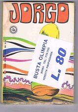 JORGO N. 3   ANCORA BLISTERATO  DEL 1969 FANTASCIENZA