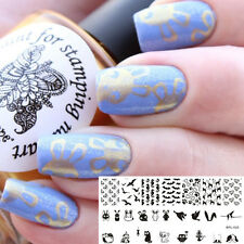 【BORN PRETTY】Nail Art Stamping Template Animal Image Pochoir Plaque BP-L025