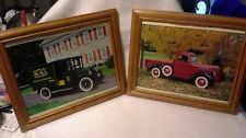 A Set of Two Workhorses of Yesteryear Framed Photo Prints