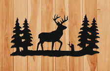 DEER WALL HANGING-WILDLIFE DECOR-GIFTS-CLINGERMANS #WDR182