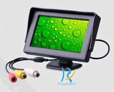 """New 4.3"""" color HD LCD Monitor Dispaly For Car Rear View IR Night Backup Camera"""