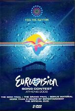 2 DVD EUROVISION SONG CONTEST ATHENS ATHEN 2006, RAR, RARE
