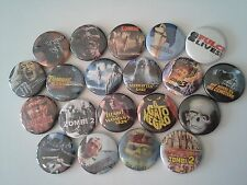 20 Lucio Fulci badges Beyond Zombie Flesh Eaters City of the Living Dead Woodoo