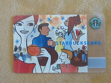 STARBUCKS CARD * CELEBRATION * Party Scene 2004 Collectible ~ RARE HTF Excellent