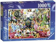 RAVENSBURGER Puzzle-DISNEY NATALE tutti all' estero - 1000 PC Puzzle - 19553