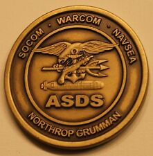 Advanced SEAL Delivery System ASDS Special Operations SDVT-1 Navy Challenge Coin