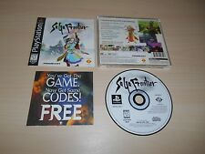 Saga Frontier 1 I Complete PS1 Playstation 1 CIB Black Label Game