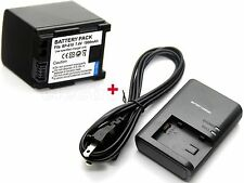 Battery & Charger for BP-819 Canon iVIS FS10 FS11 FS20 FS21 FS22 FS30 FS31 FS40