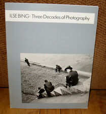 SIGNED Ilse Bing Three Decades of Photography Black White Photographs Leica PB