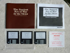 Ancient Art Of War In The Skies IBM Computer Disk Game Microprose G Cond No Box