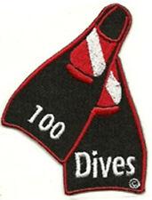 SCUBA DIVING - 100 Dives Patch  SC293