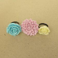 Set of 3 Flower Ring - 11