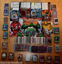 100 DEUTSCHE Yu-Gi-Oh Karten Sammlung Deck mit Holo Ultra Rare Gold Rare