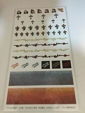TRINITY BLOOD Movic Nail Decal Sticker Complete Sheet New/Unused Abel Nightroad