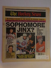 The Hockey News March 23, 1990 Vol.43 No.27 Baker Probert Whitmore Emma Mar '90