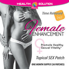Female Sexual ENHANCEMENT PATCHES Promotes Sexual Vitality Libido Boost (1 Pack)