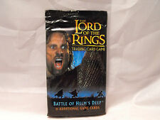 LORD OF THE RINGS TCG BATTLE FOR HELM'S DEEP SEALED PACK OF 11 CARDS