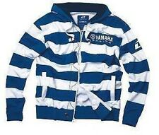 One Industries YAMAHA RUGBY Motocross Mens Striped Zip Hoodie Small MX ATV SALE
